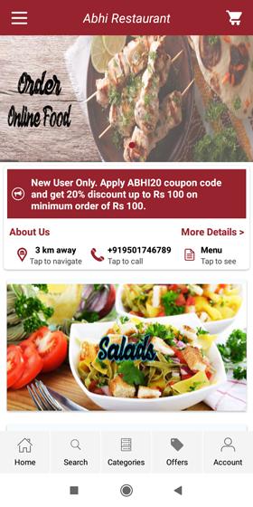 Abhi Restaurant Screenshot1