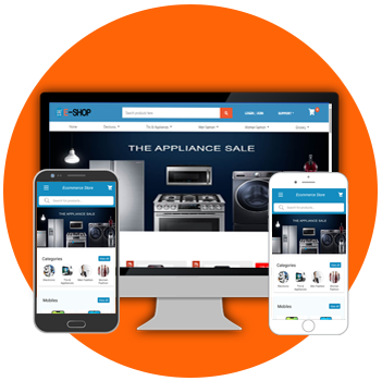 Ecommerce Website & App image