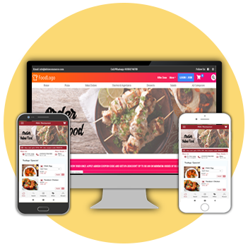 Food Ordering Restaurant Website & App