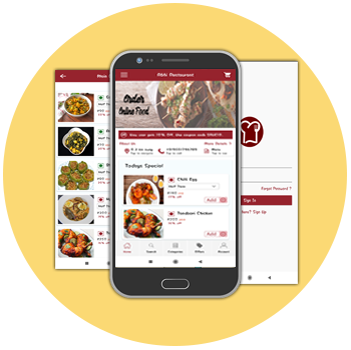 food ordering android app image